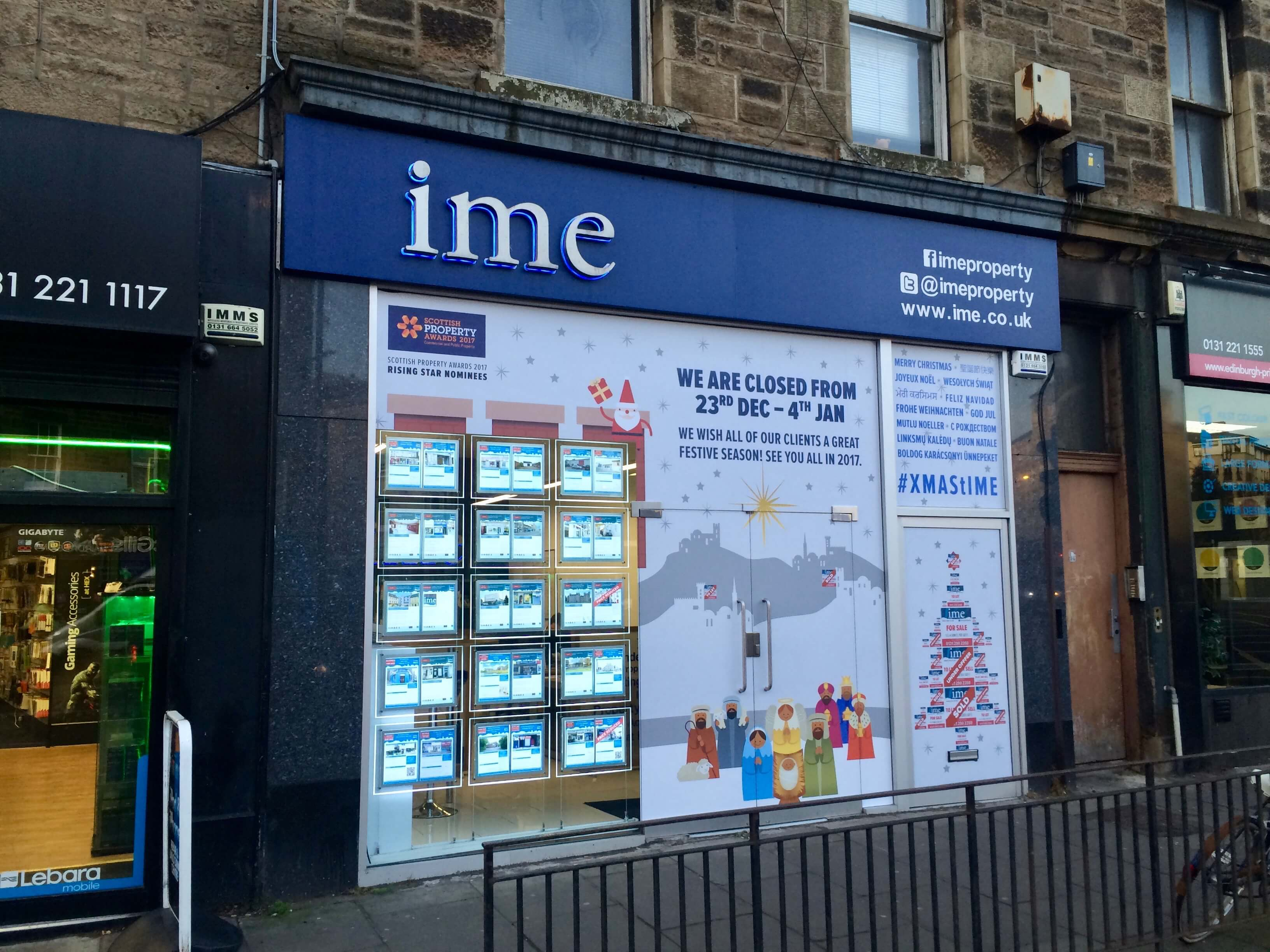 A Christmas Message from IME Property